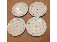 Cath Kidston spotty side plates