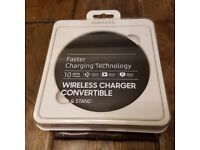 Genuine Samsung Qi Wireless Fast Charger Convertible Pad For Galaxy S8 & S8 Plus BNIB Sealed