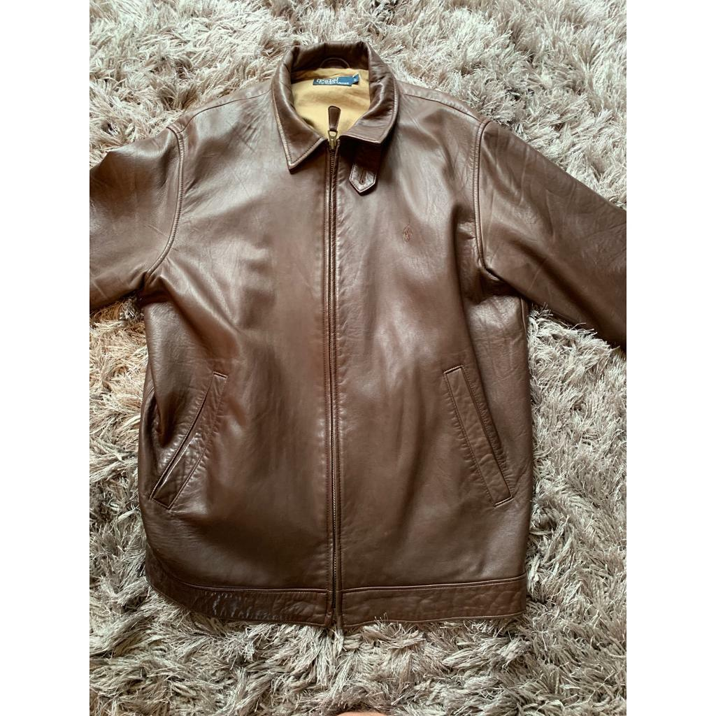 Brown Polo Lauren Gumtree LargeIn Ralph Leather Jacket MorpethNorthumberland y8nvmNwOP0