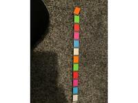 Rainbow fidget snake