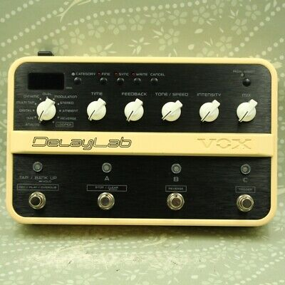 VOX DelayLab Delay Looper Guitar effect pedal (009105)