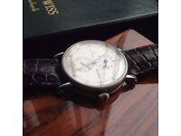 Rare Chronoswiss Regulateur Automatic mens vintage swiss watch (rolex IWC Omega chronograh Breitling