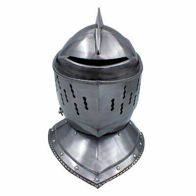Red Deer Medieval Knight's Full Size Armor - Knight Helmets