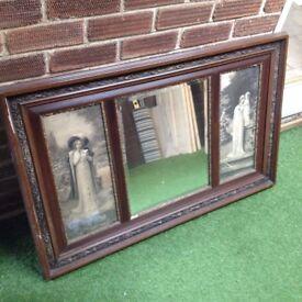 Frederick davenport bates pictured mirror