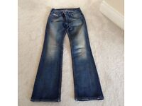 Ladies Blue Diesel 'Ronhar' Jeans W26 L32