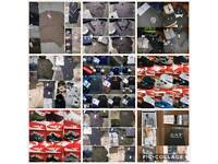 *WHOLESALE* MENSWEAR BIGGEST RANGE T SHIRTS SHORTS POLOS TRACKSUITS TRAINERS!!