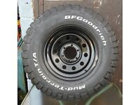 Ford Wildtrak Wheels and tyres