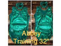 Abbey gymnastics leotards - details on pics