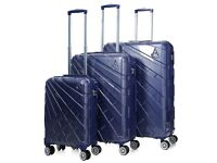 AEROLITE PCF115 HARDSHELL 8 WHEEL POLYCARBONATE PC LUGGAGE 3PCS SE