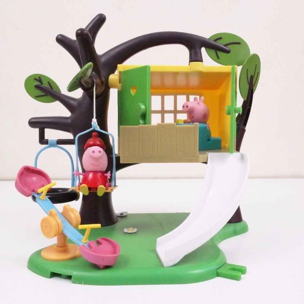Peppa-Pig-Big-Tree-House-Play-Set plus two figures