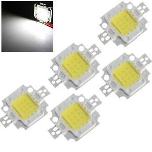 5x HIGH POWER 10W COB LED Chip Fluter Flutlicht Lampe Leuchte Birne Licht Weiß