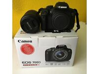 Canon EOS 700D Camera & Bundle For Sale- Immaculate Condition- Barely Used