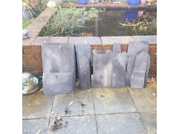 Slate - 12 large pieces 52cm x 31cm plus loads of other sized pieces