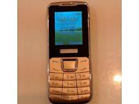 New T98+ dual sim camera phone-Torch, MICRO SD CARD SLOT metal casing(Black mix)