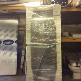 NEW 800 shower pivot door & stone tray