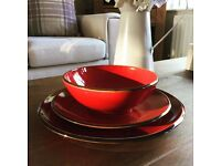 Set of crockery - from Next Home - Red
