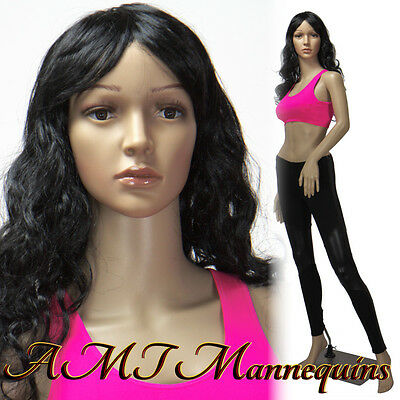 Female Mannequin Manequin Full Body Dress Form Display Manikin-racquel2wigs
