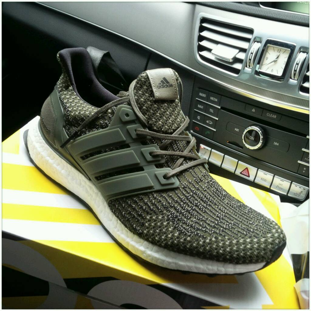 Adidas Ultra Boost 3.0 LTD Trace Cargo US 9 Olive Men 's Shoes