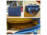 Royal Blue Leather handbag