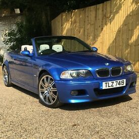 BMW E46 M3 INDIVIDUAL CONVERTIBLE ESTROIL BLUE