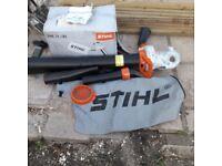STIHL ELECTRIC LEAF BLOWER / VACUUM MAINS POWER