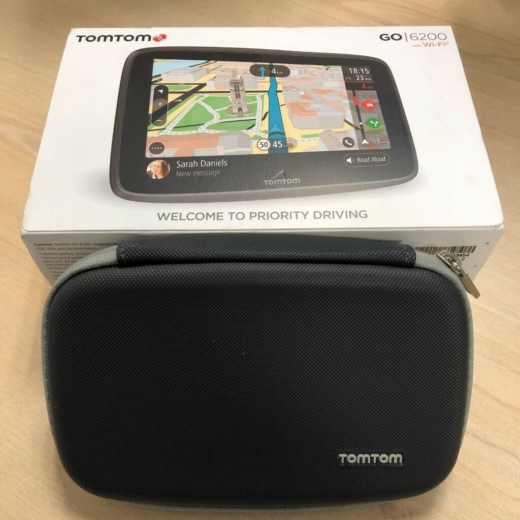 Tomtom go 6200 satnav | in Letchworth Garden City, Hertfordshire | Gumtree