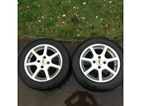 """Aez Ecco 4x100 14"""" wheels"""