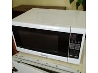 very large and powerful 32 litre touch control Panasonic microwave oven