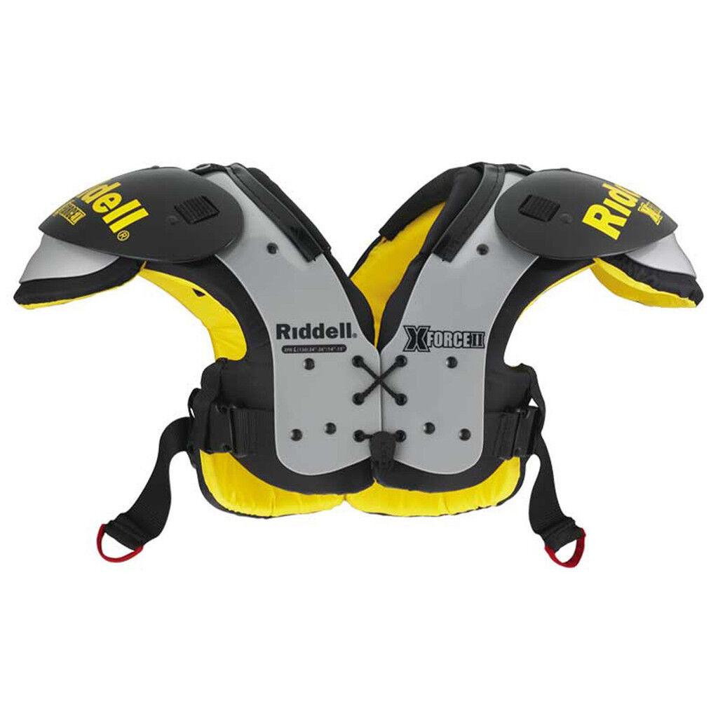 Details about NEW Riddell JV   Varsity X-Force II Football Adult Shoulder  Pads - MSRP  61.99 6af2171cc