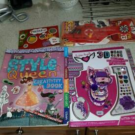 Kids craft toys. £3 each or All 4 for £10