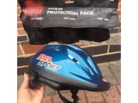 (helmet,knee,wrist,elbow guard) Skateboard Protection