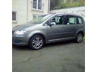 VW Touran 1.9 TDi 7 seater 2007