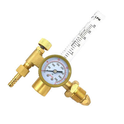 Professional Gas Flow Argon Meter Mig Tig Weld Regulator Gauge Welder 25mpa