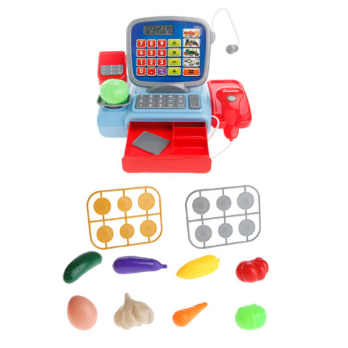 Cash Register with Scanner Weighing Scale Electronic Pretend