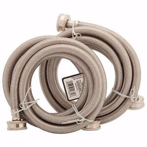 Partsmaster 6 ft. Washer Hoses (PMWSS-6) - 2 Pack
