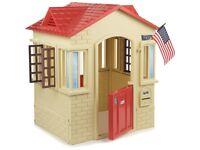 Wendy house/kids/plastic/like new
