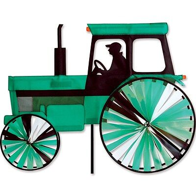 Modern Style Tractor Green Tractor Staked Wind Spinner with Pole ..22...PR 25978 - Modern Tractor Green