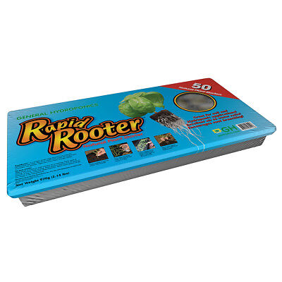 General Hydroponics Rapid Rooter Tray, 50 cell tray and plugs Rapid Rooter Plugs