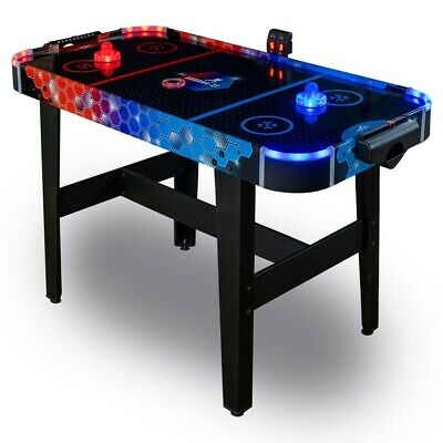CARROMCO AIRHOCKEY AURORA-XT Tisch Lufthockey Lichteffekten LED Puck + Puscher