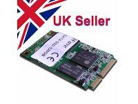 128GB miniPCI SSD SATAIII 466MBs/304MBs R/W Samsung Chip