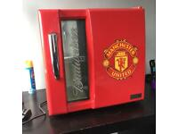 Man Utd mini fridge