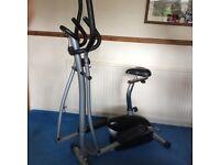 Cross trainer / bike
