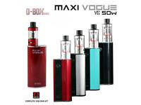 Sub-ohm e-cigarette 50 watt