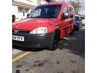 vaxhall combo crew cab