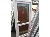 U#33 white Upvc inside opening kitchen door