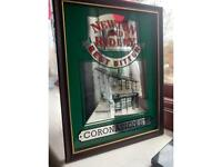 Coronation street pub mirror