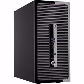 Brand New Boxed HP Prodesk 400 G3MT/Intel Core i5-6500/4GB /500GB /DVDRW/Windows 7 Pro P5K00ET#ABU