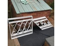 Decorative Metal Fencing Panels.
