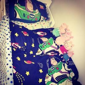 White John Lewis toddler bed