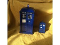 large & Mini Doctor Who electronic sound 11th doctor tardis